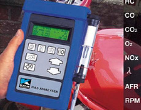 手持式汽车尾气分析仪